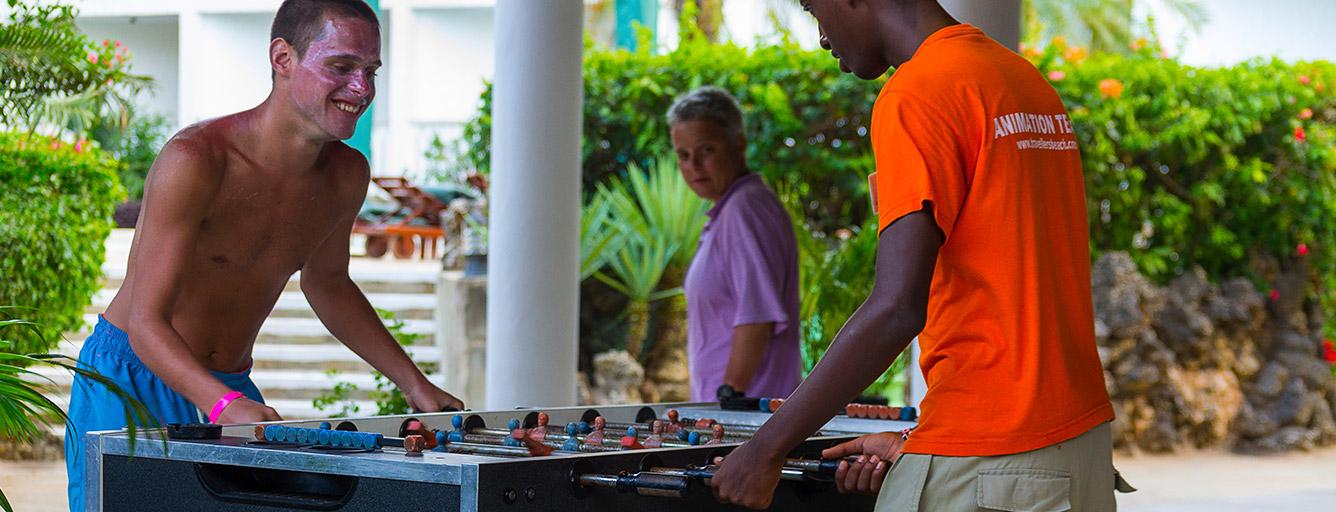 Foosball - Travellers Beach Hotel & Club